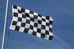 w kratkę flaga Zdjęcie Royalty Free