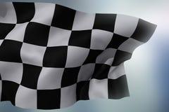 w kratkę flaga Zdjęcie Stock