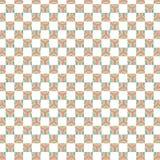 W kratkę Kolorowy lampas Obciosuje Geometrycznego wzór Zdjęcia Royalty Free