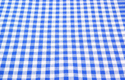 w kratkę tablecloth Obraz Stock