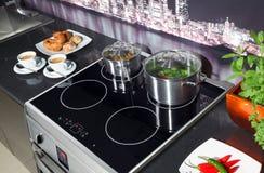 W kuchni Fotografia Stock