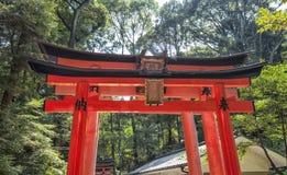 W Kyoto Fushimi taisha Inari, Japonia Obraz Royalty Free