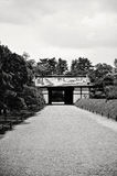 W Kyoto Nijo Kasztel (Japonia) Obrazy Stock
