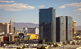 W Las Vegas aria Kasyno Kurort i Zdjęcie Royalty Free