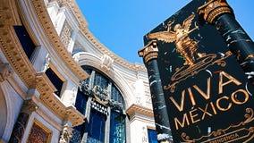 W Las Vegas Forum Sklepy zdjęcia royalty free