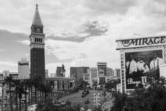 W Las Vegas Miraż obrazy royalty free