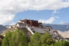 W Lhasa Potala Pałac obrazy stock