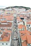 W Lisbon mieście, Europe Zdjęcia Royalty Free