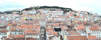 W Lisbon mieście, Europe Obraz Royalty Free