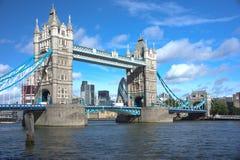 W Londyn basztowy Most Obrazy Royalty Free