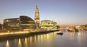 W Londyn czerepu budynek Zdjęcie Royalty Free