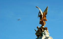 W Londyn Eros statua obraz royalty free
