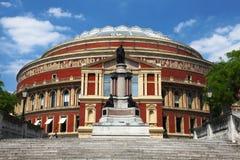 W Londyn Królewski Albert Hall Fotografia Royalty Free