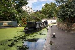 W Londyn mały Wenecja Zdjęcie Stock