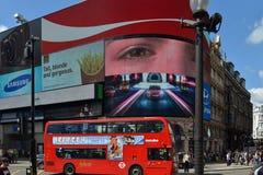 W Londyn Piccadilly Cyrk Fotografia Royalty Free