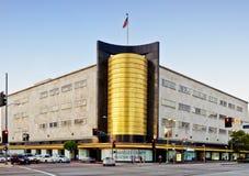 W Los Angeles Art Deco Architektura zdjęcia royalty free