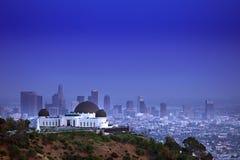 W Los Angeles Griffith Obserwatorium CA Zdjęcie Royalty Free
