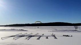 W lotniczy hanggliding zbiory wideo