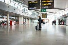 W lotnisku linia lotnicza pasażery Obraz Royalty Free