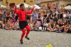 ³ w, Lublino 2015 di Carnaval Sztuk-Mistrzà Fotografia Stock