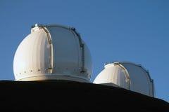 W M 凯克天文台-夏威夷-美国 库存照片