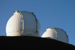 W M Keck-Observatorium - Hawaii - USA Stockfotos