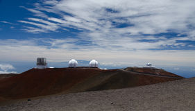 W M. Osservatorio di Keck fotografia stock