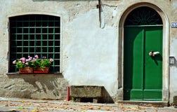 W małym Włoskim miasteczku Obraz Royalty Free