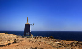 W Malta madonny statua Obraz Stock