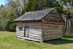 W. Manse George hus på Shiloh NMP Arkivfoton