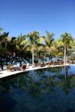 W Mauritius wyspie tropikalny kurort Obraz Royalty Free