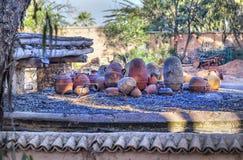 W Medina afrykański schronienia miasto Agadir Obrazy Stock