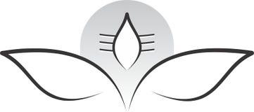 W medytaci posturze władyki shiva Fotografia Royalty Free