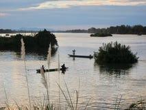 W Mekong rzece Obraz Stock