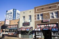 W Memphis Beale Ulica zdjęcia stock