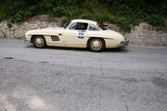 ‰ W 198 1954 MERCEDES-BENZS 300 SL COUPÃ Stockbild