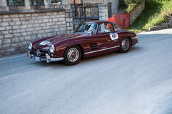 ‰ W 198 1956 MERCEDES-BENZS 300 SL COUPÃ Stockbilder