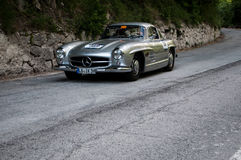 ‰ W 198 1955 MERCEDES-BENZS 300 SL COUPÃ Stockbild