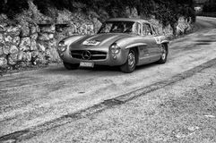 ‰ W 198 1955 MERCEDES-BENZS 300 SL COUPÃ Stockfoto