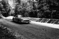 ‰ W 198 1955 MERCEDES-BENZS 300 SL COUPÃ Stockfotografie