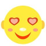 W miłości Smiley Obrazy Royalty Free