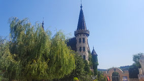 W miłości z wiatrem kasztel Ravadinovo, Bułgaria - Fotografia Royalty Free