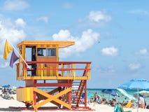 W Miami plaży Obraz Royalty Free