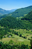 W Montenegro góra krajobraz Obraz Royalty Free