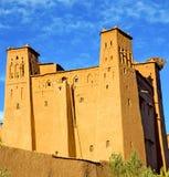 w Morocco contruction i dziejowej wiosce Obrazy Stock