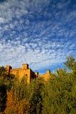 w Morocco dziejowa wioska i Zdjęcie Stock