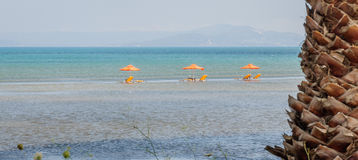 W morzu Fotografia Stock