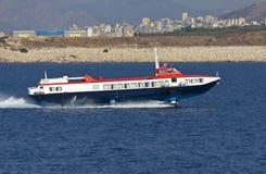 W morzu egejskim poduszkowa podróżowanie Obraz Stock