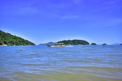 W morzu Maricà ¡ Brazylia obraz stock