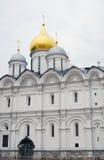 W Moskwa Arkhangels' Katedra Kremlin. Obraz Royalty Free